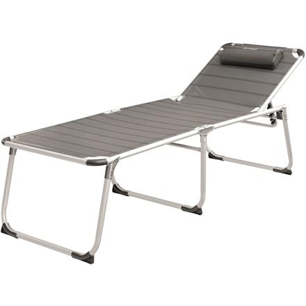 Outwell Foldable Sunbed New Foundland 120 kg, Grey