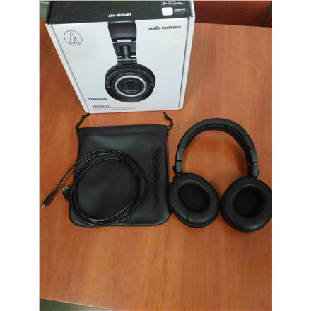 SALE OUT. Audio Technica ATH-M50XBT Wireless Headphones Audio Technica ATH-M50XBT REFURBISHED USED WITHOUT ORIGINAL PACKAGING, Bluetooth, Headband/On-Ear, Wireless, Warranty 3 month(s), Black