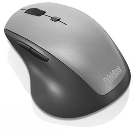 Lenovo ThinkBook 600 Wireless Media Mouse 4Y50V81591 Optical mouse, Black, Wireless, Wireless connection