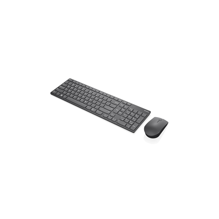 Lenovo Professional Ultraslim Wireless Combo Keyboard and Mouse- Nordic 4X30T25803 Keyboard and mouse, Wireless, Keyboard layout Nordic, Wireless connection Yes, Mouse included, Grey, No, EN, Numeric keypad