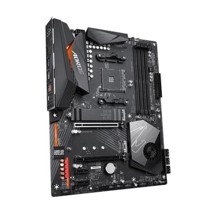 Gigabyte X570 AORUS ELITE Processor family AMD, Processor socket AM4, DDR4 DIMM, Memory slots 4, Number of SATA connectors 6 x SATA 6Gb/s connectors, Chipset AMD X, ATX
