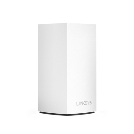 Linksys WHW0101 Velop Intelligent Mesh WiFi System, 1-Pack 802.11ac, 400+867 Mbit/s, 10/100/1000 Mbit/s, Ethernet LAN (RJ-45) ports 2, Mesh Support Yes, MU-MiMO Yes, Antenna type 3xInternal