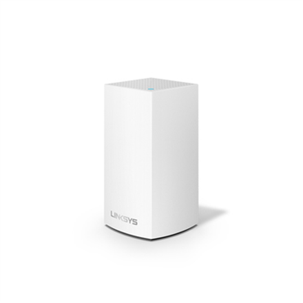 Linksys WHW0103-EU Velop Whole Home Intelligent Mesh WiFi System, Dual-Band, 3-pack 802.11ac, 400+867 Mbit/s, 10/100/1000 Mbit/s, Ethernet LAN (RJ-45) ports 2, Mesh Support Yes, MU-MiMO Yes, Antenna type Internal