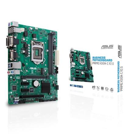 Asus PRIME H310M-C R2.0 Processor family Intel, Processor socket LGA1151, DDR4, Memory slots 2, Chipset Intel H, Micro ATX