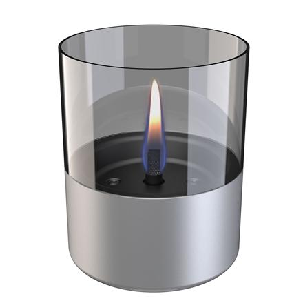 Tenderflame Table burner Lilly 1W Glass Diameter 10 cm, 12 cm, 200 ml, 7 hours, Aluminium