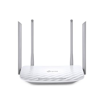 TP-LINK Router Archer C50 802.11ac, 300+867 Mbit/s, 10/100 Mbit/s, Ethernet LAN (RJ-45) ports 4, Antenna type 2xExternal, 1xUSB 2.0