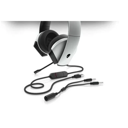 Dell Alienware Gaming Headset AW510H  Built-in microphone, Wired, Silver