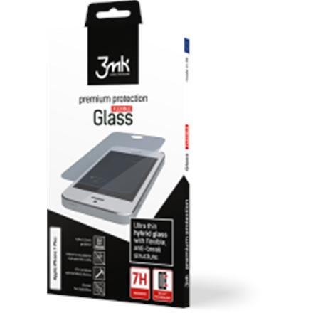 3MK FlexibleGlass Screen protector, Apple, iPhone XI, Unbreakable hybrid glass, Transparent