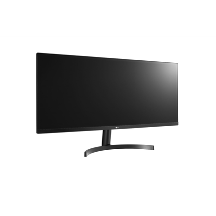 """LG 34WL500-B 34 """", IPS, FHD, 2560 x 1080 pixels, 21:9, 5 ms, 250 cd/m², Black, 2 x HDMI, Headphone Out"""