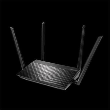Asus AC1500 Dual Band WiFi Router RT-AC59U 802.11ac, 600+867 Mbit/s, 10/100/1000 Mbit/s, Ethernet LAN (RJ-45) ports 4, MU-MiMO Yes, Antenna type External, AiCloud, AiDisk, AiRadar, USB 2.0