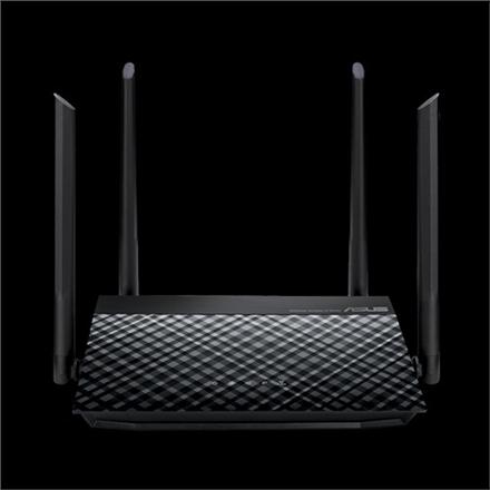 Asus High-Speed N600 WiFi Router RT-N19 802.11n, 10/100 Mbit/s, Ethernet LAN (RJ-45) ports 2, Mesh Support No, MU-MiMO No, No mobile broadband, Antenna type External