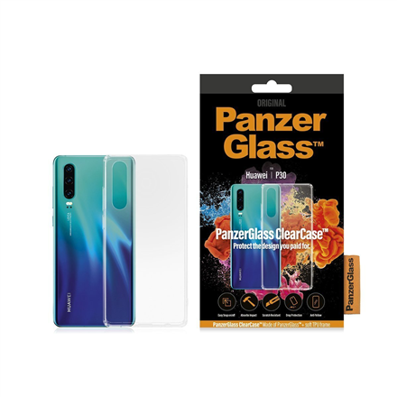 PanzerGlass ClearCase 0198 Huawei, Huawei P30, Plastic, Transparent, Back cover