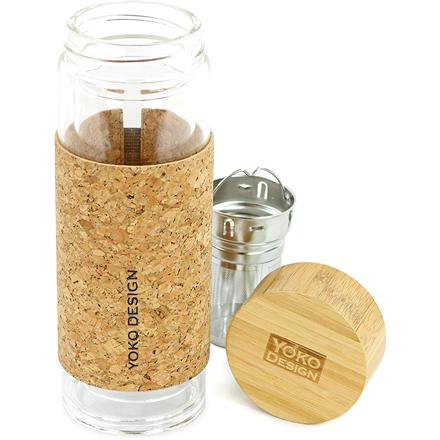 Yoko Design Tea cup Capacity 0.35 L, Material Glass, Cork