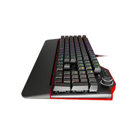 Genesis NKG-0959, Gaming keyboard, RGB LED light, US, Wired