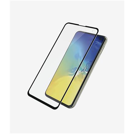 PanzerGlass Samsung, Galaxy S10e, Glass, Black, Case Friendly