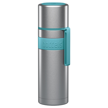 Boddels HEET Vacuum flask with cup Capacity 0.5 L, Material Stainless steel, Turquoise blue