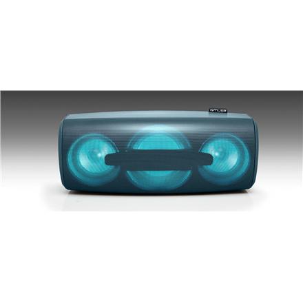 Muse Enceinte Bluetooth Portable Splash-Proof speaker M-930 DJN 80 W, Bluetooth, Portable, Wireless connection, Blue