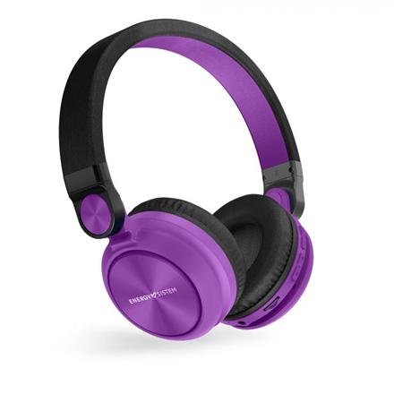 Energy Sistem Headphones BT Urban 2 Radio, Violet