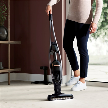 Electrolux Vacuum Cleaner Pure Q9 PQ91-40GG Cordless operating, Handstick and Handheld, 21.6 V, Operating time (max) 50 min, Grey, Warranty 24 month(s)