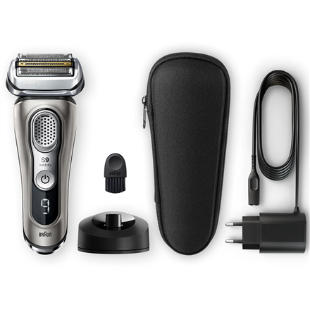 Braun Shaver 9325s Cordless, Charging time 1 h, Wet use, Lithium Ion, Number of shaver heads/blades 5, Graphite