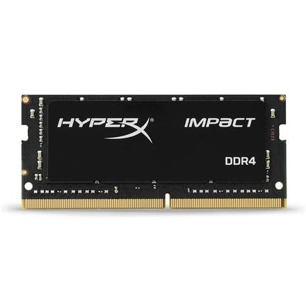 Kingston HyperX Impact 8 GB, DDR4, 3200 MHz, Notebook, Registered No, ECC No