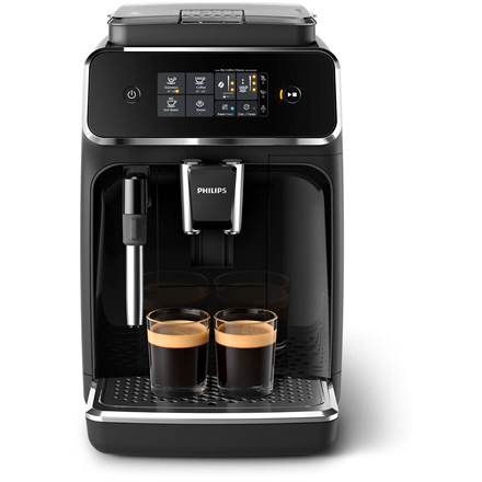 Philips Coffee maker EP2221/40 Pump pressure 15 bar, Built-in milk frother, Fully automatic, 1500 W, Black