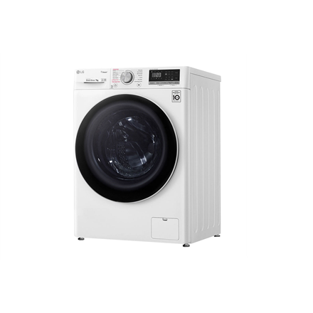 LG Washing machine F2WN4S6N0 Energy efficiency class E, Front loading, Washing capacity 6.5 kg, 1200 RPM, Depth 45 cm, Width 60 cm, Display, LED touch screen, Direct drive, Wi-Fi, White