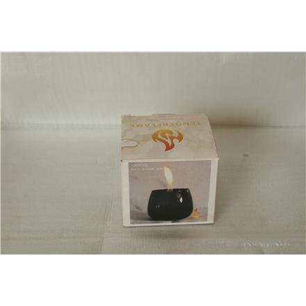 SALE OUT. Tenderflame Table burner Crocus 1W Glass Black, USED AS DEMO