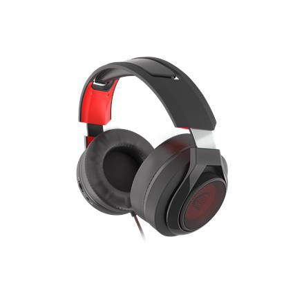 GENESIS Gaming Headset RADON 610, Wired, Balck/Red