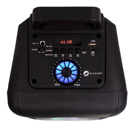 N-Gear Speaker The Flash 610 USB streaming, Bluetooth, Portable, Wireless connection