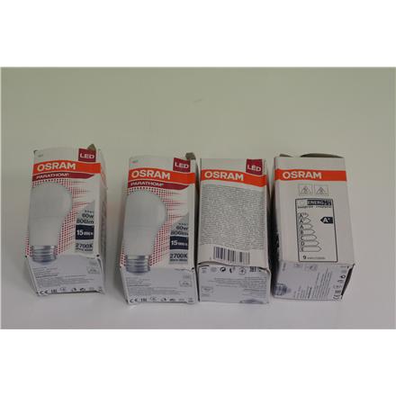 SALE OUT. Osram Parathom Classic LED 60 non-dim 8,5W/827 E27 bulb DAMAGED PACKAGING Osram Parathom Classic LED E27, 8.50 W, Warm White