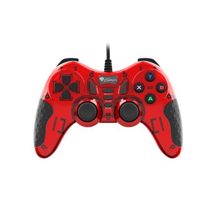 GENESIS Mangan 200 Gamepad, Red, Wired