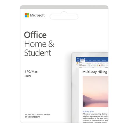 Microsoft Office Home and Student 2019 79G-05157 One-time purchase, Latvian, Medialess, P6