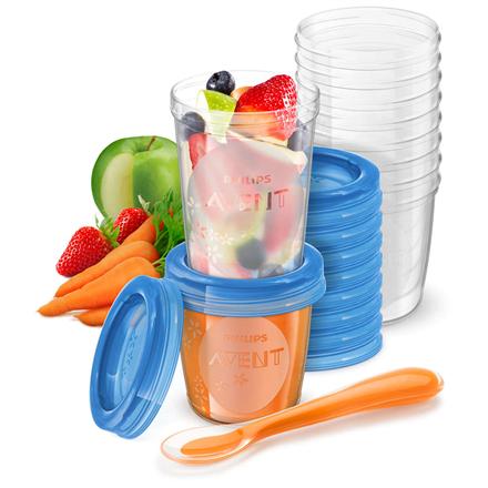 Philips Food Storage Cup Avent SCF721/20 Blue