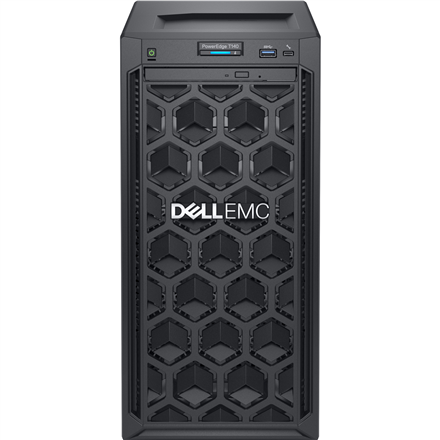 """Dell PowerEdge T40 Tower, Intel Xeon, E-2224G, 3.5 GHz, 8 MB, 4T, 4C, 8 GB, UDIMM DDR4, 2666 MHz, 1000 GB, Up to 3 x 3.5"""", No OS, Warranty Basic Onsite 36 month(s)"""