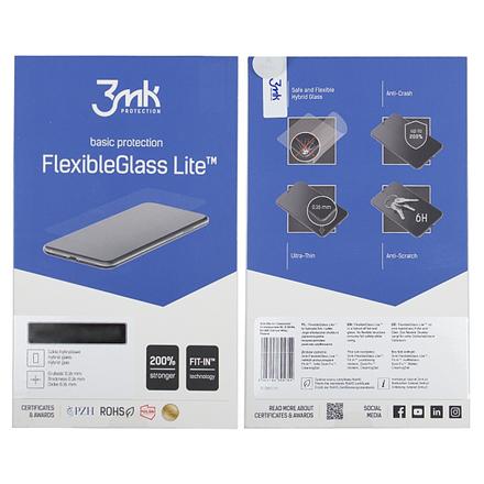 3MK Flexible Glass Lite Galaxy A50, Samsung, Hybrid Glass, Clear, Clear Screen Protector
