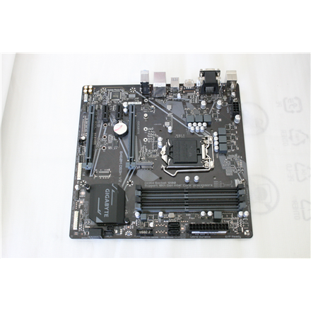 SALE OUT. GIGABYTE B460M DS3H V2 1.0 M/B Gigabyte B460M DS3H V2 1.0 Processor family Intel, Processor socket LGA1200, DDR4 DIMM, Memory slots 4, Number of SATA connectors 4 x SATA 6Gb/s connectors, Chipset Intel H, Micro ATX, REFURBISHED WITHOUT ORIGINAL PACKAGING AND ACCESSORIES BACKPANEL INCLUDED