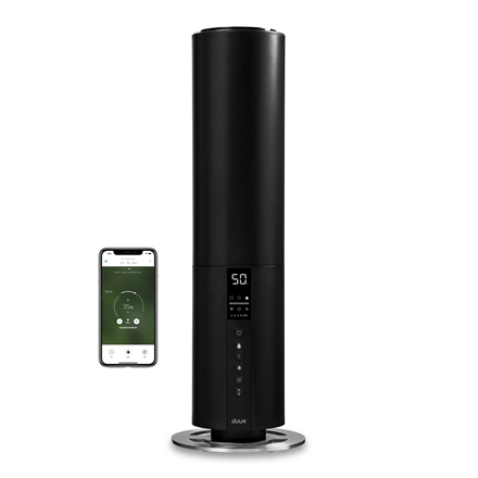 Duux Bundle of Beam Smart Ultrasonic Humidifier & Lavender Aromatherapy 27 W, Water tank capacity 5 L, Ultrasonic, Humidification capacity 350 ml/hr, Black, 40 m