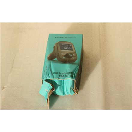 SALE OUT. Energy Sistem Car Transmitter FM PRO, Bluetooth Energy Sistem Car Transmitter FM PRO DAMAGED PACKAGING, Bluetooth, FM, USB connectivity