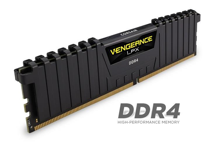 CORSAIR 16GB RAMKit 2x8GB DDR4 3200MHz