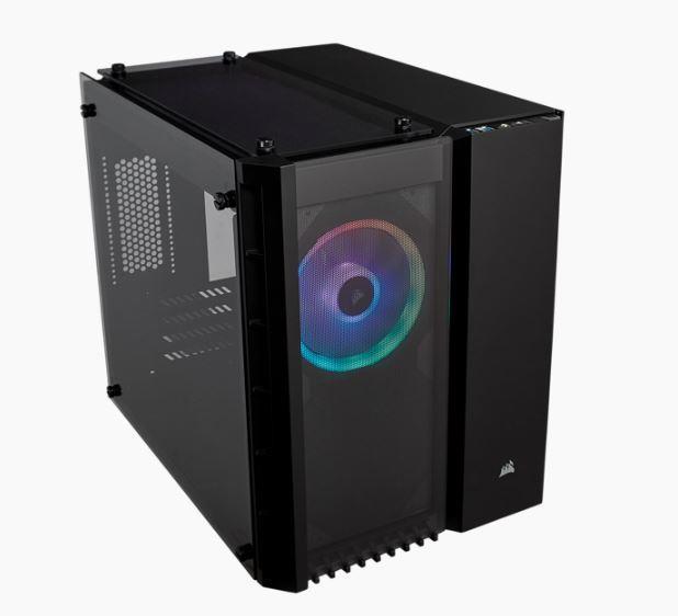 CORSAIR Crystal 280X RGB TempGlass Black