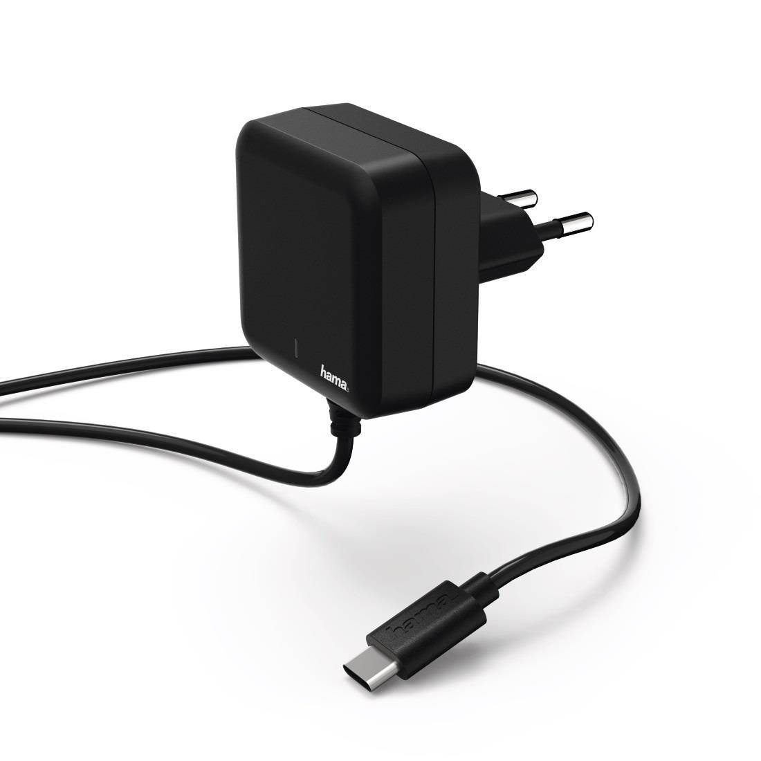 HAMA Charger USB Type-C power delivery