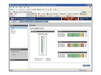 HPE PDU ManagementModul for MonitoredPDU