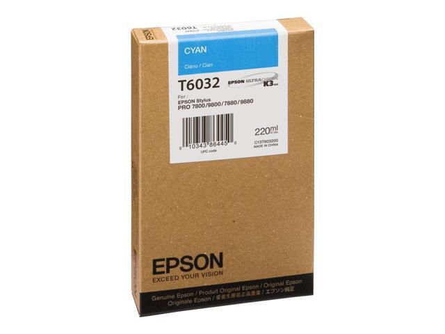 EPSON ink cyan StylusPro 7800 7880