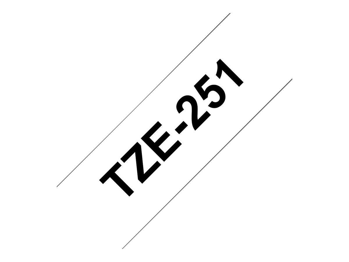 BROTHER TZE251 tape cassette 24mm8m