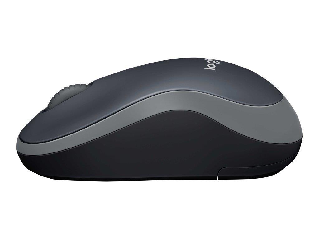 LOGI M185 Wireless Mouse SWIFT GREY EWR2