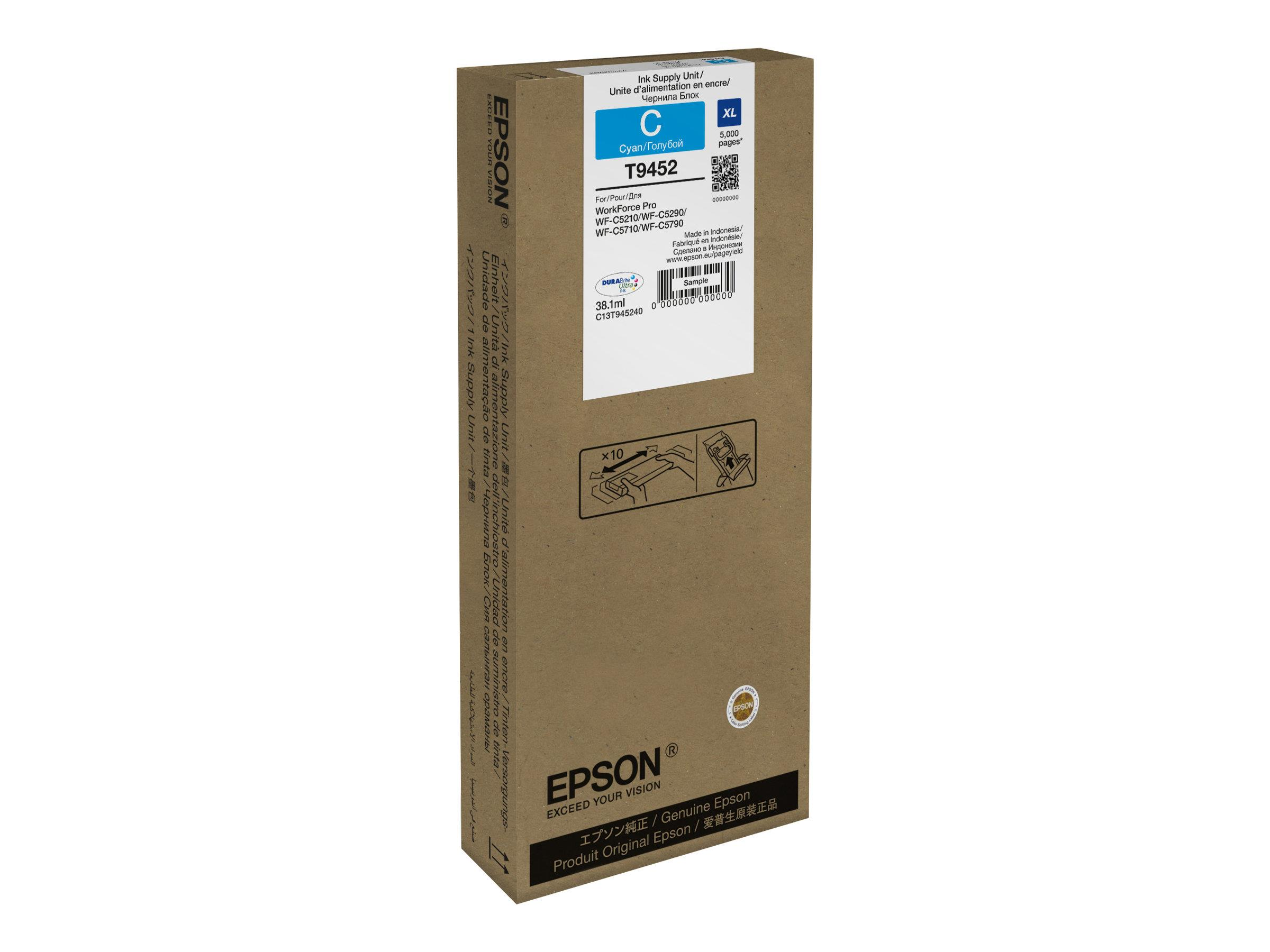 EPSON WF-C5xxx Ink Cart. XL Cyan 5000s