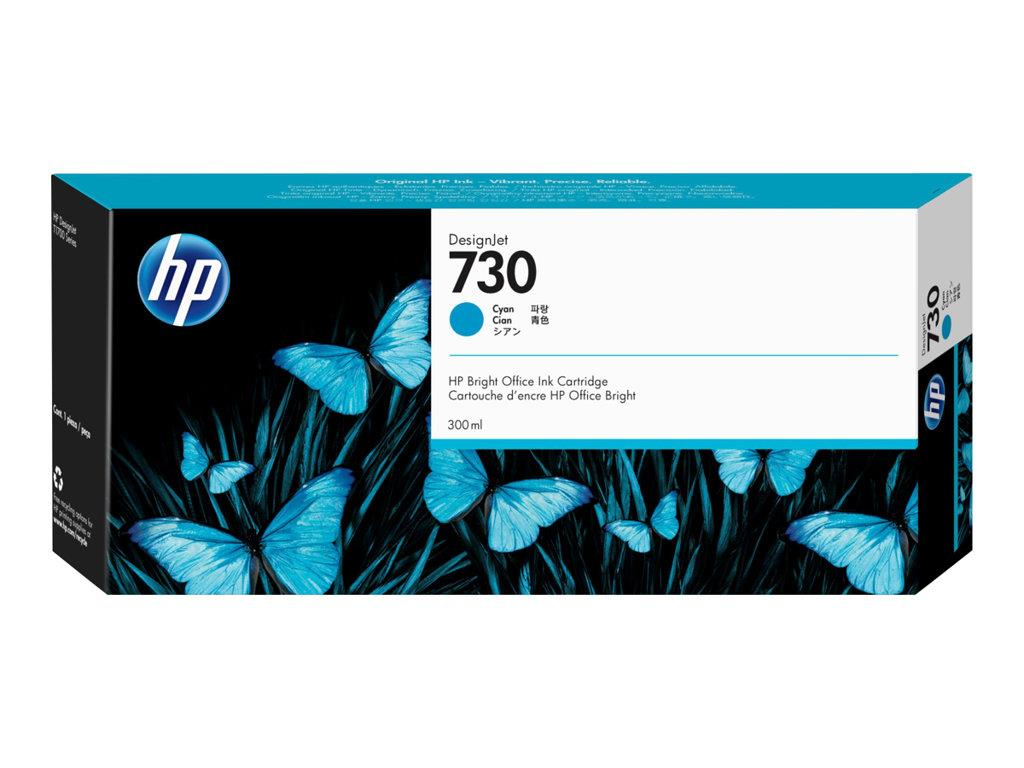 HP 730 300 ml Cyan Ink Cartridge