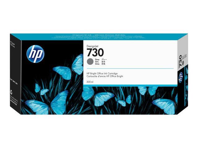 HP 730 300 ml Gray Ink Cartridge