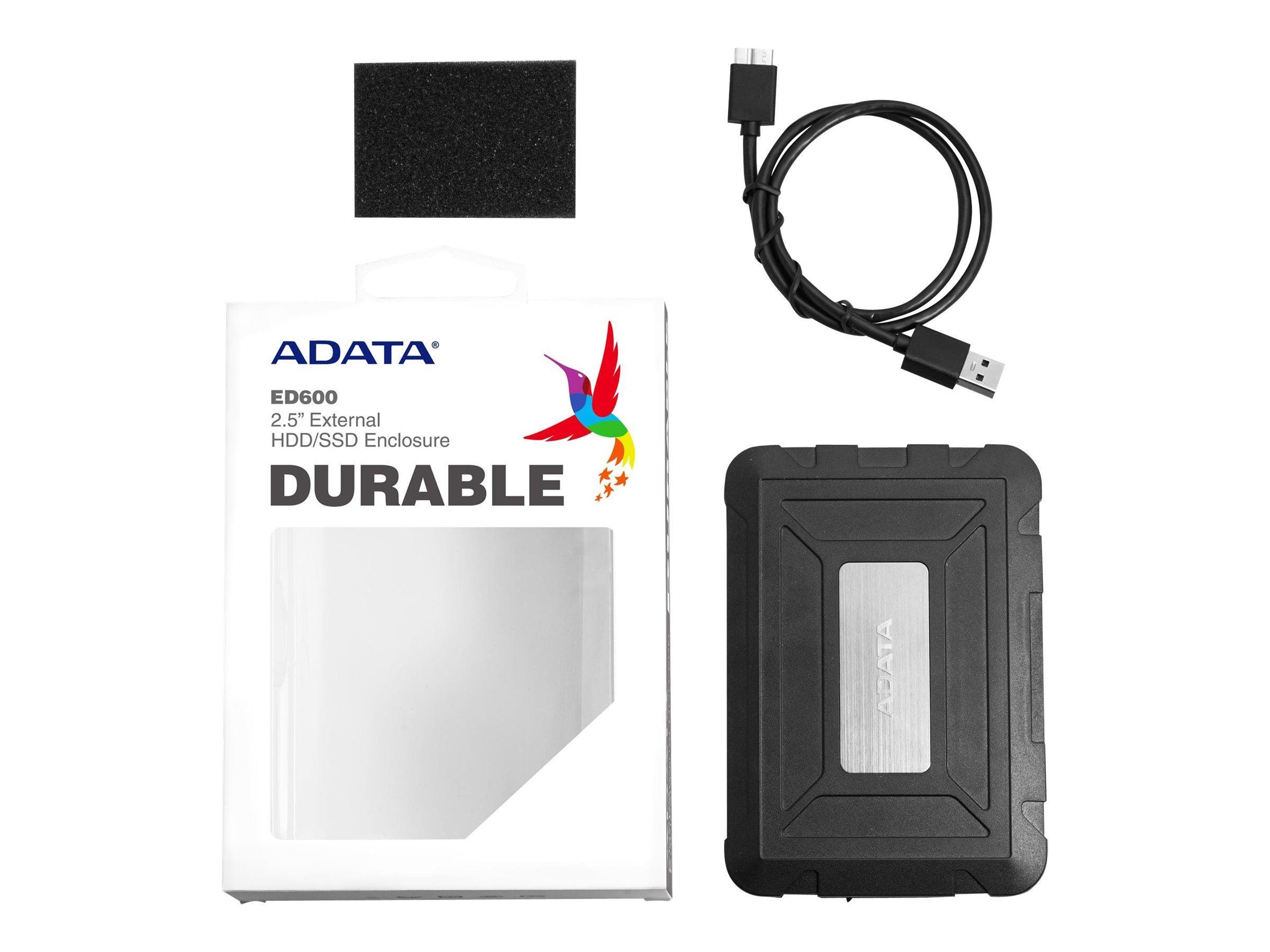 ADATA ED600 Durable HDD 2.5i enclosure